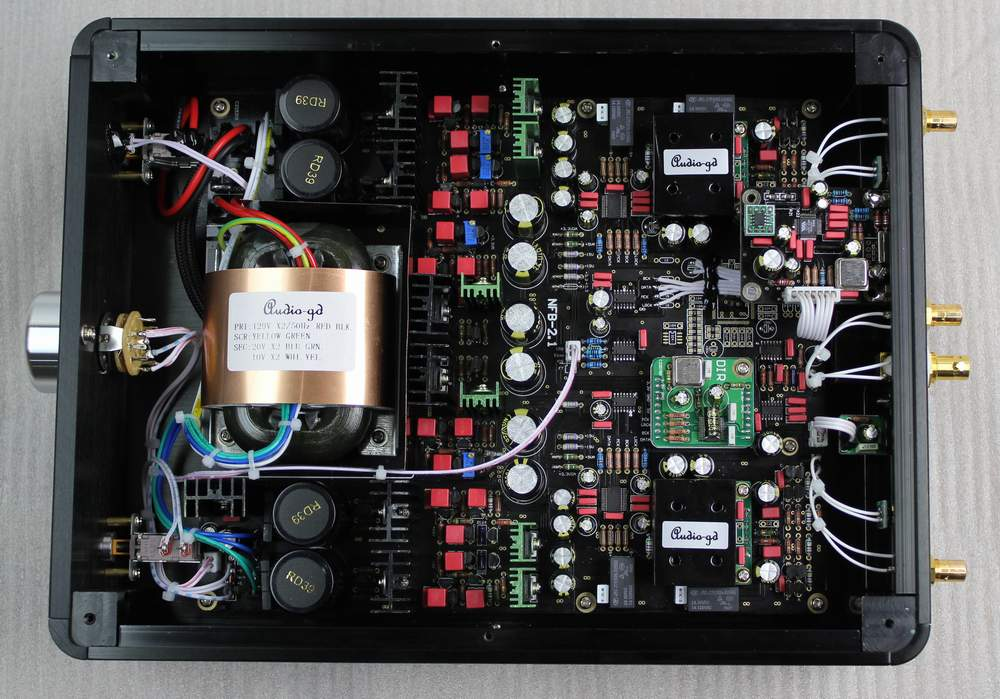 Audio-gd NFB-2(2014) inside