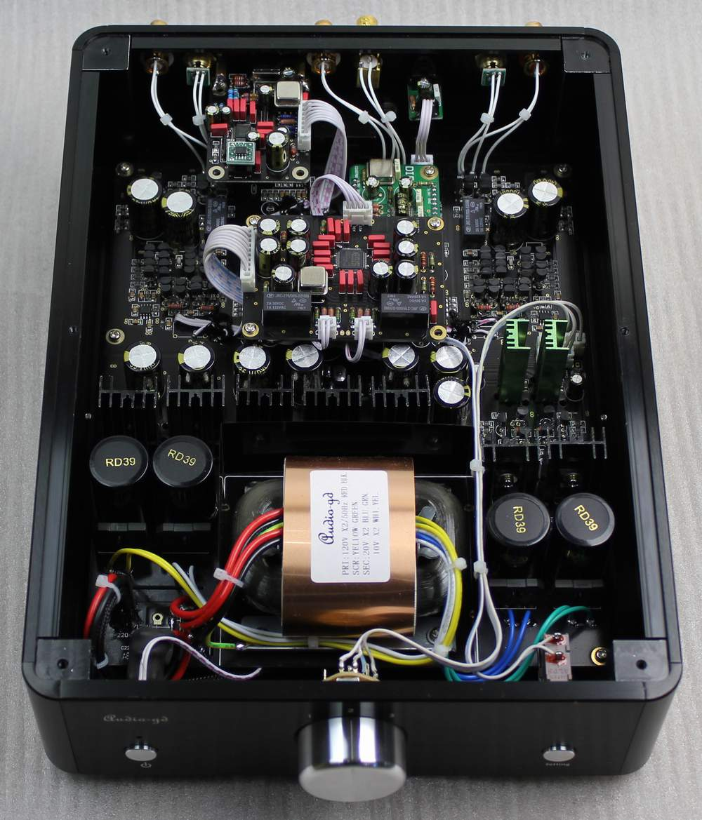 Audio-gd NFB-3(2014) inside